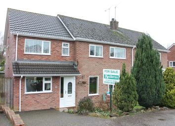 Thumbnail 5 bedroom semi-detached house for sale in Slade Close, Ottery St. Mary