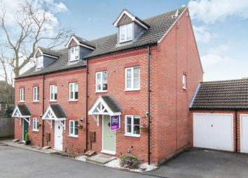Thumbnail 3 bed end terrace house for sale in Highfields Park Drive, Allestree, Derby