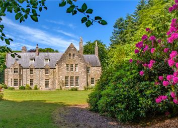Thumbnail 19 bed detached house for sale in Crowmallie House, Pitcaple, Inverurie, Aberdeenshire