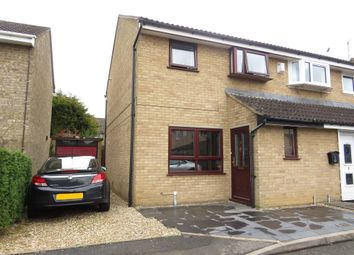 Thumbnail 3 bed semi-detached house for sale in Heather Close, Rugby