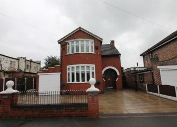 Thumbnail 3 bed detached house for sale in Glenhaven Avenue, Urmston, Manchester