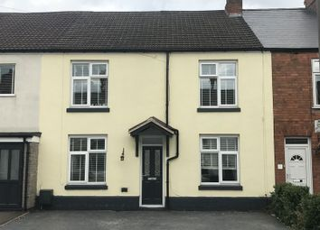 Thumbnail 3 bed terraced house to rent in Derby Road, Hinckley