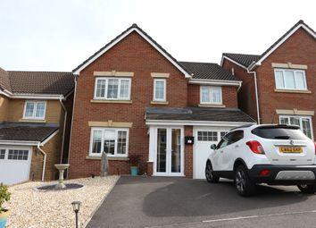 Thumbnail 4 bed detached house for sale in Santes Tudful Grove, Heolgerrig, Merthyr Tydfil