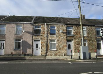 Thumbnail 2 bed terraced house to rent in Bridgend Road, Maesteg, Bridgend.