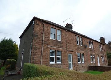 Thumbnail 2 bed flat for sale in Leonard Terrace, Lockerbie, Dumfries And Galloway