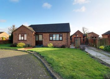 Thumbnail 3 bed detached bungalow for sale in Rushtons Way, Hibaldstow, Brigg