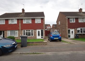 Thumbnail 3 bed semi-detached house to rent in Thomson Close, Leicester