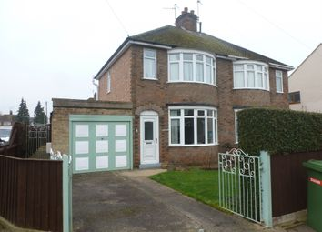 Thumbnail 3 bedroom semi-detached house for sale in Churchfield Road, Peterborough