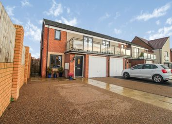 Thumbnail 3 bed semi-detached house for sale in Elmwood Park Grove, Newcastle Upon Tyne