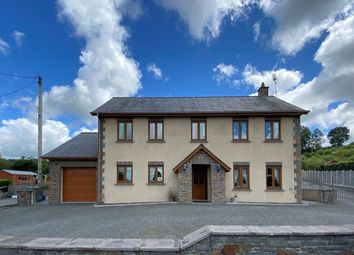 Thumbnail 4 bed detached house for sale in Cwmann, Lampeter