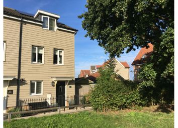 Thumbnail 3 bed end terrace house for sale in Tulip Gardens, Cringleford