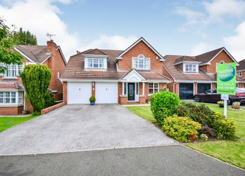 Thumbnail 4 bed detached house for sale in Larch Close, Underwood, Nottingham
