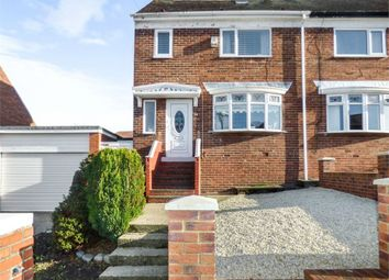 Thumbnail 3 bed semi-detached house for sale in Maple Avenue, Sunderland, Tyne And Wear