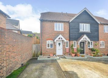 Thumbnail 2 bed semi-detached house for sale in Badgers Den, Ashford, Kent