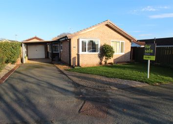 Thumbnail 2 bed detached bungalow for sale in Trentham Road, Wem, Shrewsbury
