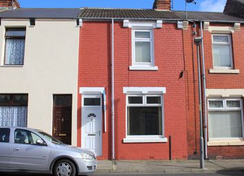 Thumbnail 3 bed terraced house to rent in Colenso Street, Hartlepool