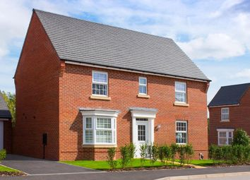 "Thumbnail 4 bed detached house for sale in ""Layton"" at Stoke Road, Poringland, Norwich"