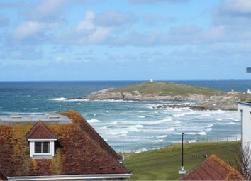 Thumbnail 4 bed flat for sale in Pentire Avenue, Newquay