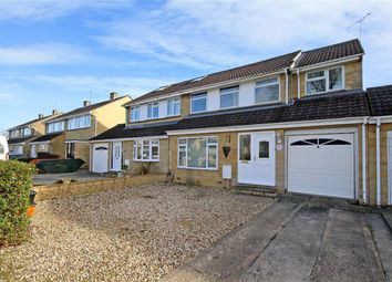 Thumbnail 4 bed semi-detached house for sale in Purbeck Close, Swindon, Wiltshire