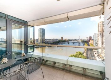 Thumbnail 4 bedroom flat for sale in Peninsula Heights, 93 Albert Embankment, London