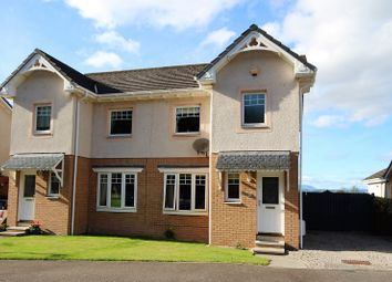Thumbnail 3 bed semi-detached house for sale in 32 Moray Park Gardens, Culloden, Inverness