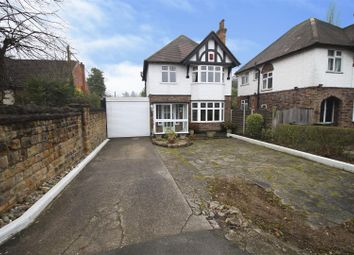 Thumbnail 3 bed detached house for sale in Derby Road, Bramcote, Nottingham
