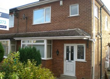 Thumbnail 3 bedroom semi-detached house to rent in Rockland Crescent, Clayton