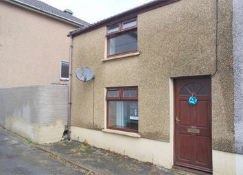Thumbnail 3 bed end terrace house for sale in Cross Street, Maesteg, Mid Glamorgan