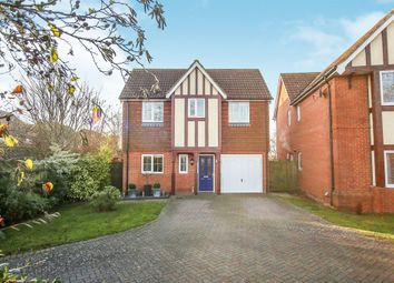 Thumbnail 4 bed detached house for sale in Coulter Road, Kingsnorth, Ashford