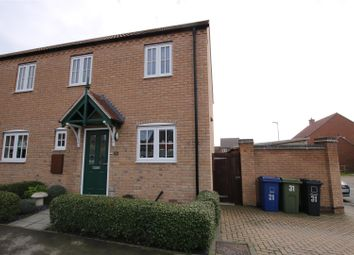 Thumbnail 3 bed end terrace house for sale in Hancock Drive, Bardney, Lincoln