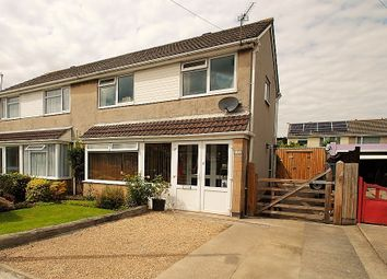 Thumbnail 3 bed semi-detached house for sale in Mendip Avenue, Worle, Weston-Super-Mare