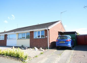 Thumbnail 2 bedroom semi-detached bungalow for sale in Gipping Way, Bramford, Ipswich, Suffolk
