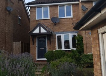 Thumbnail 2 bed semi-detached house for sale in Poppy Drive, Rugby