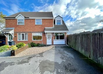 Thumbnail 3 bed semi-detached house for sale in High Meadow Close, Ripley