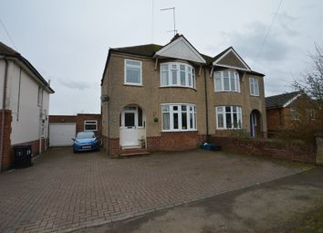 Thumbnail 4 bed semi-detached house for sale in Sandhills Road, Kingsthorpe, Northampton