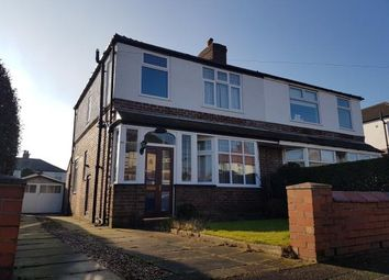 Thumbnail 3 bed semi-detached house for sale in Harcourt Road, Altrincham, Greater Manchester