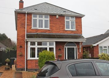 Thumbnail 3 bed detached house for sale in Maple Road, Thurmaston, Leicester