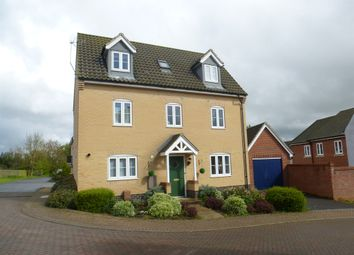Thumbnail 5 bed detached house for sale in Beverley Close, Carbrooke, Thetford