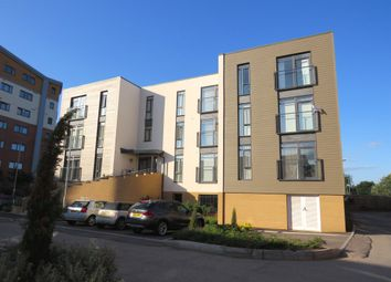 Thumbnail 2 bed flat for sale in Firepool Crescent, Taunton