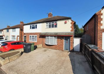 Thumbnail 3 bed semi-detached house for sale in Stonehill Avenue, Leicester