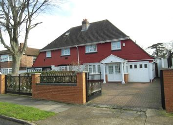 Thumbnail 4 bed semi-detached house for sale in Cranford, Middlesex