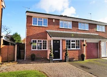 Thumbnail 3 bed semi-detached house for sale in Gleneagles Drive, Holmes Chapel, Crewe