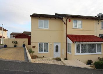 Thumbnail 4 bed end terrace house for sale in Ferndale Close, Woolwell, Plymouth