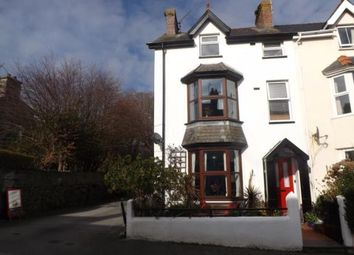 Thumbnail 5 bed end terrace house for sale in Glasfor Terrace, Criccieth, Gwynedd