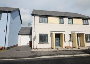 3 bed semi-detached house for sale in Westleigh Way, Saltram Meadow, Plymstock PL9