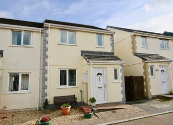 Thumbnail 3 bed semi-detached house for sale in Chegwin Gardens, Newquay