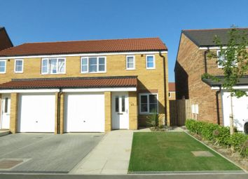 Thumbnail 3 bed semi-detached house for sale in Poppy Lane, Shotton, County Durham DH62Lf.