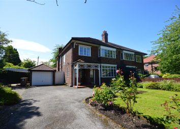 Thumbnail 4 bed semi-detached house for sale in Village Road, Prenton