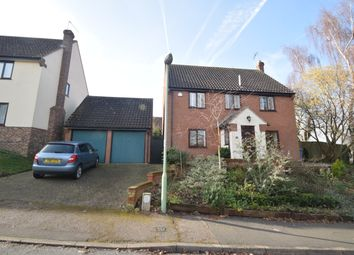 Thumbnail 4 bed detached house for sale in Stockton Close, Hadleigh, Ipswich