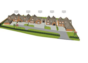 Thumbnail 4 bed detached house for sale in Repton Road, Hartshorne